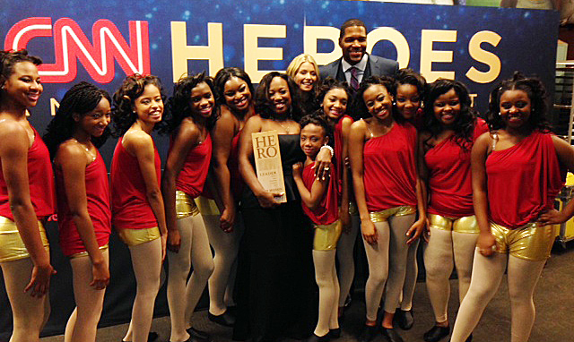 CSS at the CNN 2013 Heros celebration