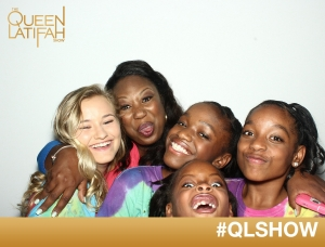 Fun with the Queen Latifah cameras!